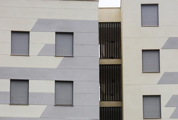 Melilla. Edificio de 35 viviendas de protección oficial