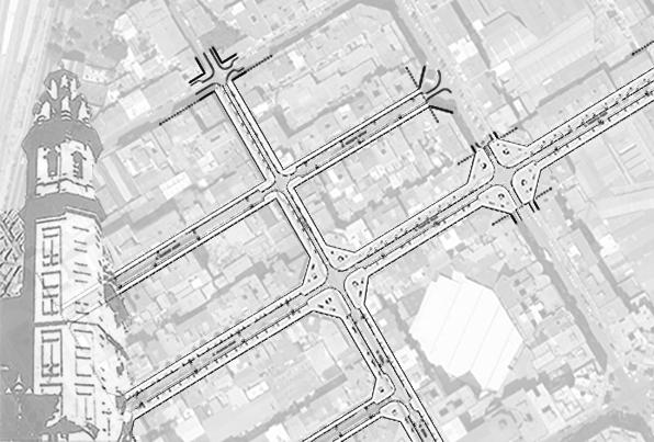 Valencia. Estudio de urbanización integral en el barrio de Russafa