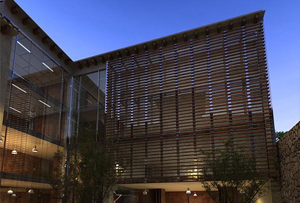 Jaca. Huesca. Remodelación del antiguo Hospital para Escuela de Música