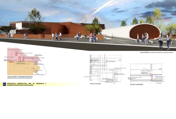 Centro de Seguridad Integral en Boadilla del Monte. Anteproyecto