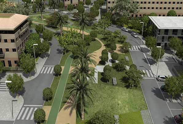 Picanya. Valencia. Urbanización PAI SUD