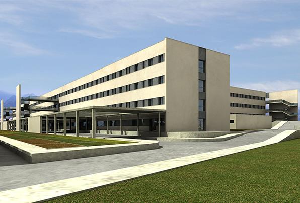 Gandia. Valencia. Hospital Comarcal. Concurso